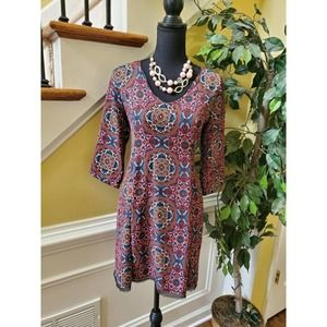 Speechless Boho Floral Spring Dress- Size Small